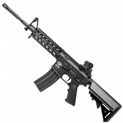 Rifle G and G Combat Machine CM16 Carbine AEG Negro