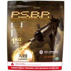 G&G BB´s Perfect .20g 1kg 5000 unidades-Black