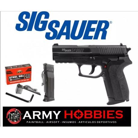 Pistolas De Balines Sig Sauer Sp2022 Manifiesto