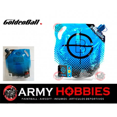 Bb's 0.20g De Airsoft Goldenball