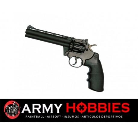 Pistola de balines Crosman 357W 3576 airgun revolver