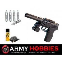 Pistola de balines Crosman C11 Tactical