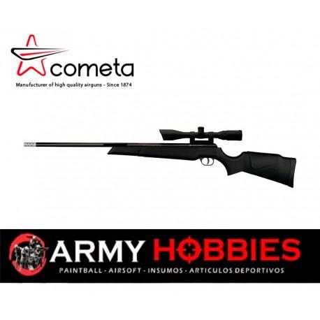 Rifle aire comprimido Cometa Fusion Star 1250 Fps Cal 5 5mm  Mira 3 9x40