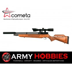 Rifle aire comprimido Cometa Orion SPR 1400 Fps Cal 6 35mm  Mira 3 9x40