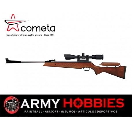 Rifle aire comprimido Cometa Fenix 400 1450 Fps Cal 4 5mm  Mira 3 9x40