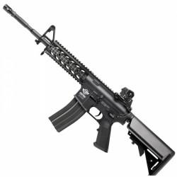 Rifle G and G Combat Machine CM16 Carbine AEG Negro