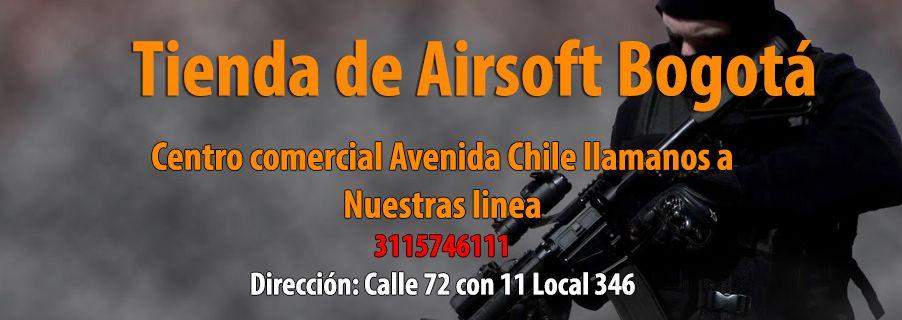 Tienda de Airsoft Bogota
